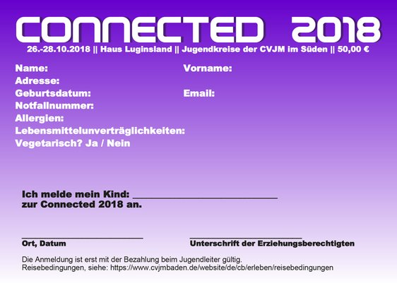 Connected Werbung 2018 S 1+2